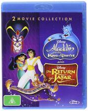 Aladdin King of Thieves / Return of Jafar: 2 Movies [Blu-ray Set, Region Free]