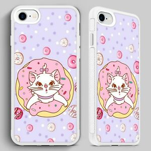 new concept 5a505 9c610 Details about Aristocats Disney Marie Donut Cat QUALITY PHONE CASE for  iPHONE 4 5 6 7 8 X