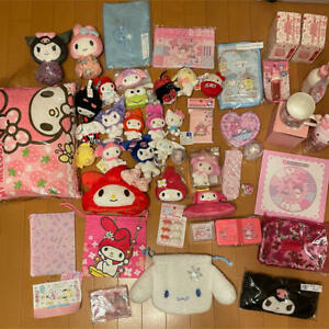 Sanrio  My Melody Kuromi Cinnamoroll Hello Kitty Huge Bundle Set  Kawaii
