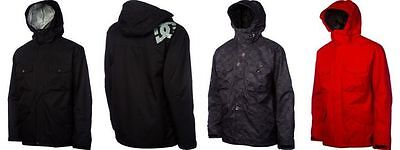 DC Mens McFly Jacket insulated winter coat ski snow snowboard M-XL NEW $240