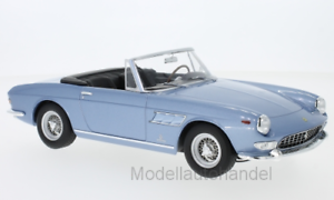Ferrari-275-GTS-Pininfarina-Spyder-azul-palido-1964-1-18-KK-scale-gt-top-subasta-lt