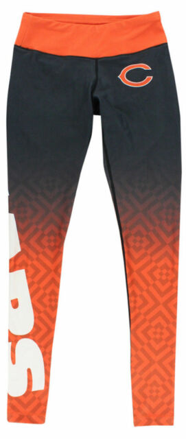 282221e547a5f Forever Collectibles Womens Chicago Bears NFL Gradient Leggings Dark Grey XS