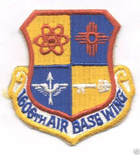 1606tht AIR BASE WING patch