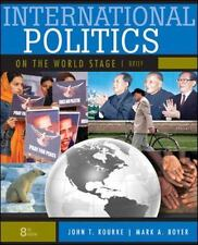 Sell back textbook international politics on the world stage.