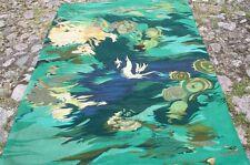 Wandbehang Webarbeit Tapestry Tapisserie Wandteppich Weberei TST Monogramm