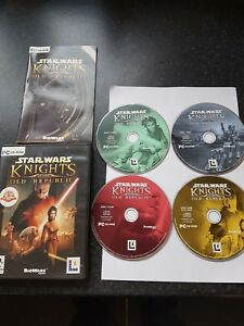 Details about STAR WARS - KNIGHTS OF THE OLD REPUBLIC 1 KOTOR Pc Cd Rom  complete