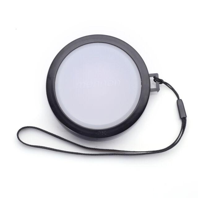 52mm White Balance Lens Cap with Filter Mount for DV DC DSLR SLR
