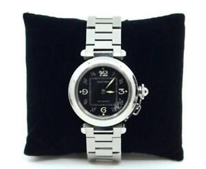 Pasha-De-Cartier-Stainless-Steel-Watch-Water-Resistant