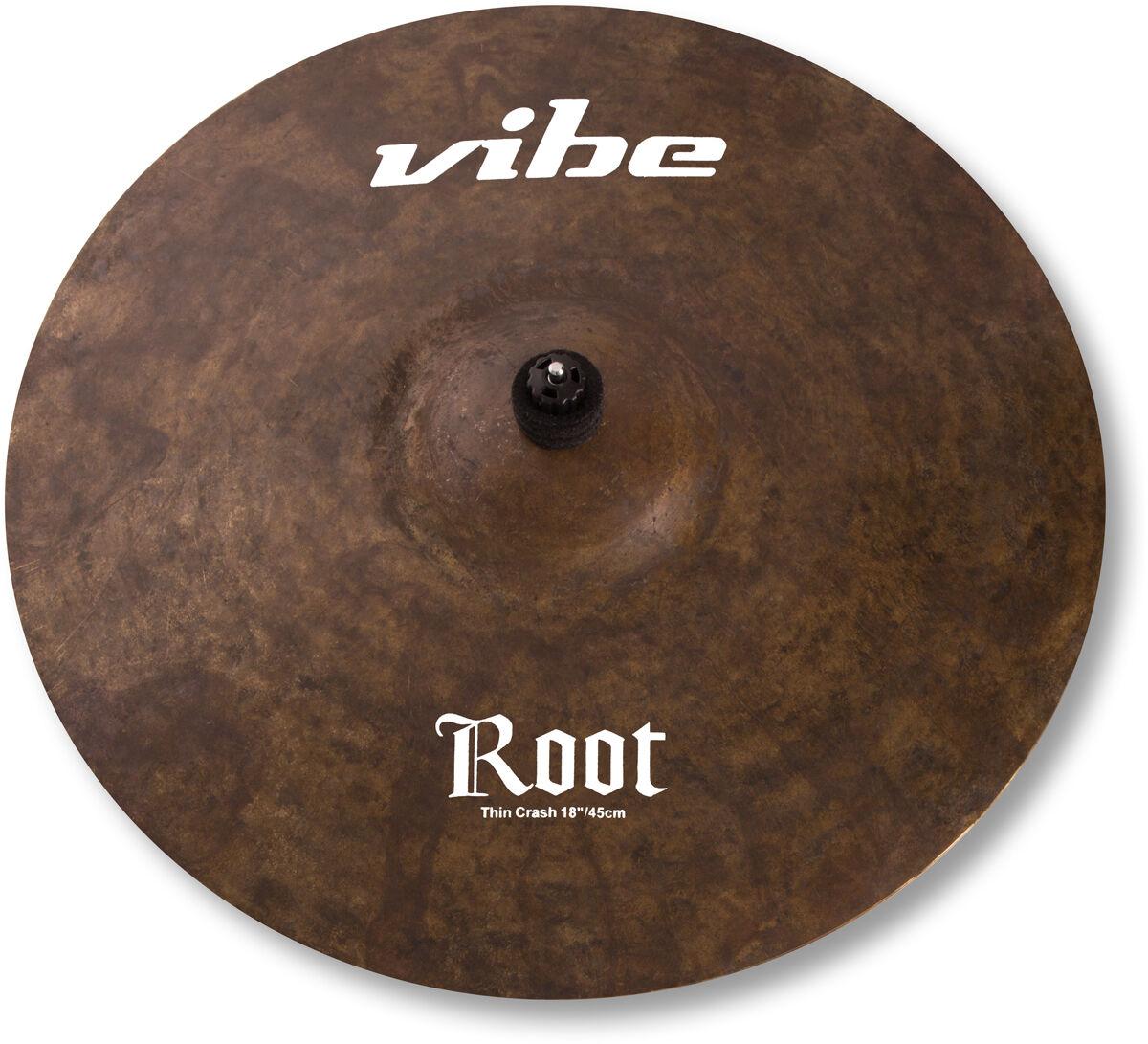 Vibe Crash Becken 18 , Handgehämmert aus B20, Serie wählbar, 18  Crash Cymbal