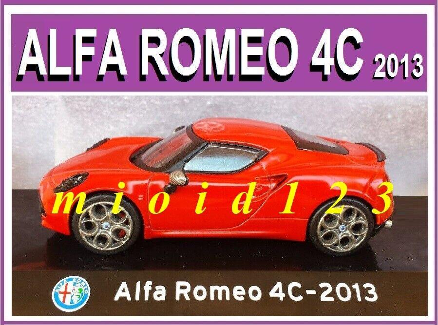 1 43 - Supercars Collection   ALFA ROMEO ROMEO ROMEO 4C - [2013] - Die-cast c5cfa6