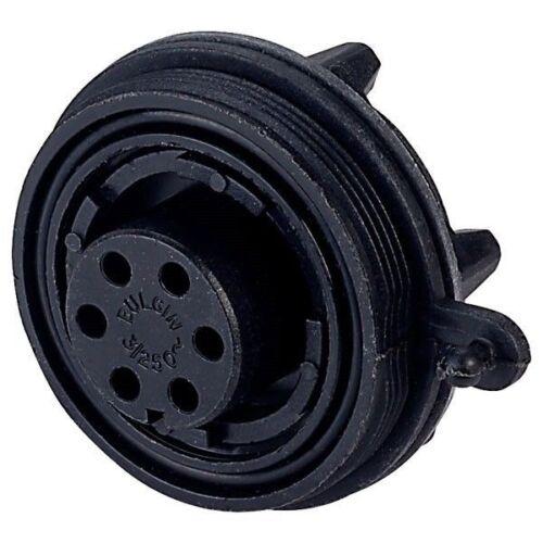 Bulgin PX0738S Bucanero Panel Socket 6 polos