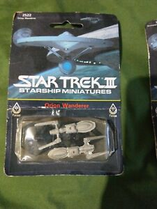 Orion-Wanderer-Romulan-Flyer-Starship-Miniature-Star-Trek-III-Sealed