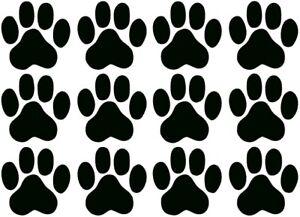 Details Zu Aufkleber Katzen Hunde Pfoten Tatzen 12 Sticker Zu Je 5x5cm