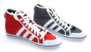promo code 3b73f 35359 Image is loading ADIDAS-WOMAN-SNEAKER-SHOES-CASUAL-FREE-TIME-COTTON-