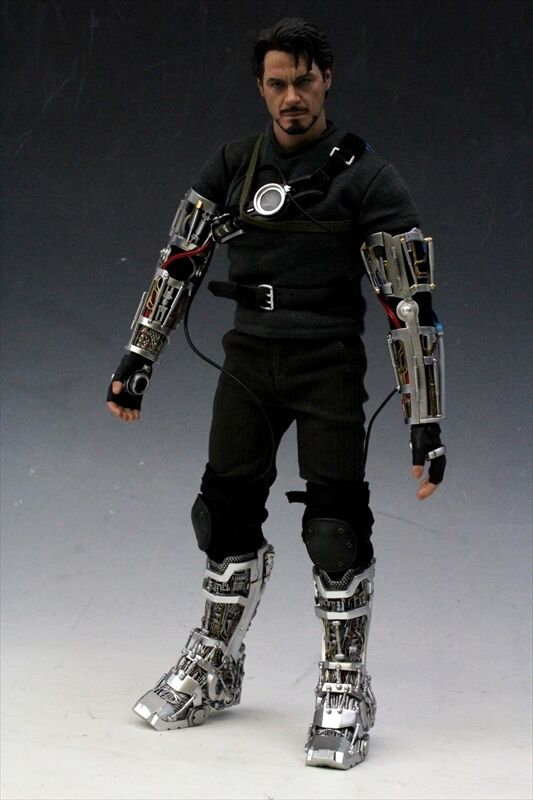 Hot Toys MMS116 Iron Man: Tony Stark  Mech Test Version
