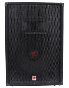 Rockville-RSG15-4-15-3-Way-1500-Watt-4-Ohm-Passive-DJ-Pro-Audio-PA-Speaker