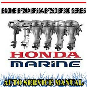 honda outboard engine bf20a bf25a bf25d bf30d series workshop manual honda parts diagram image is loading honda outboard engine bf20a bf25a bf25d bf30d series