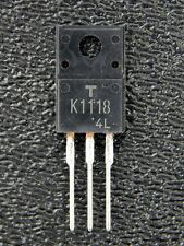 Toshiba 2SK1118 K1118 N-Channel MOSFET 600V 6A