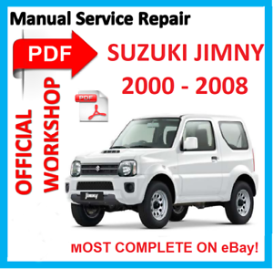 Official workshop manual service repair for suzuki jimny sn413 image is loading official workshop manual service repair for suzuki jimny fandeluxe Images
