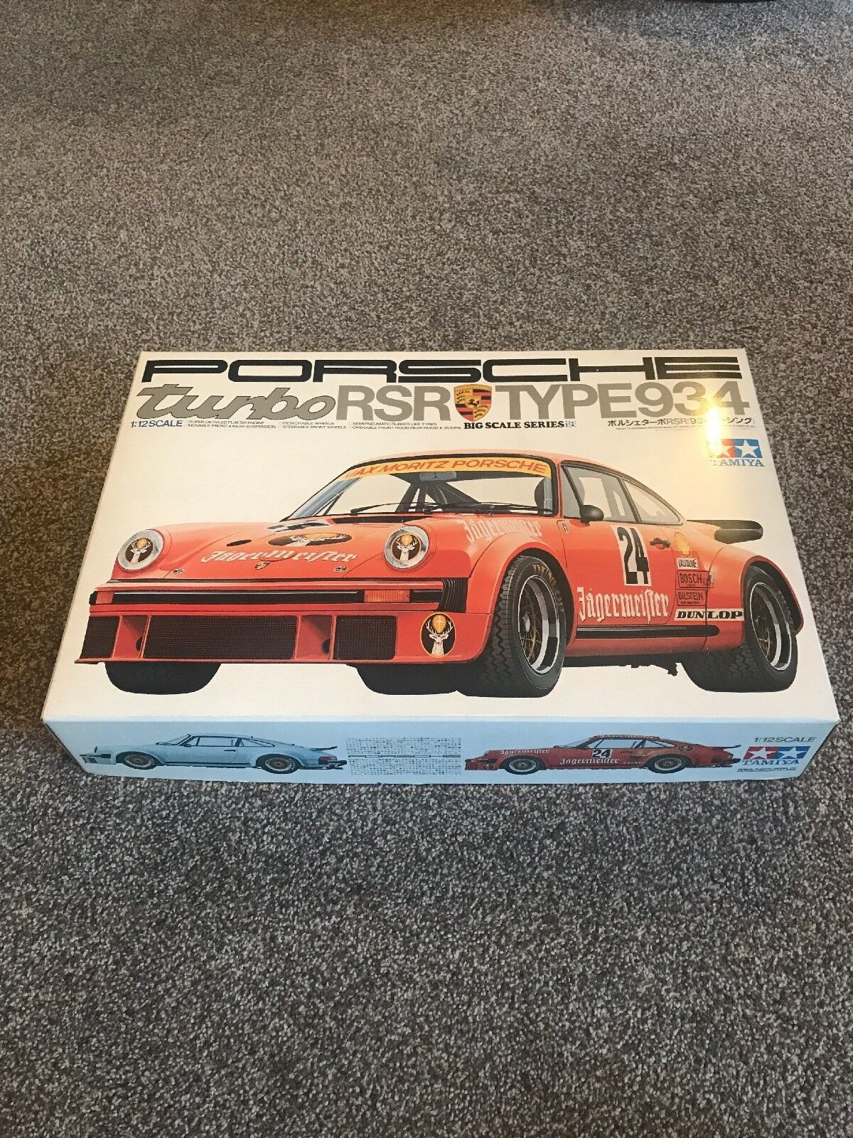Tamiya 1 12 Porsche 934 Turbo Rsr Big Scale kit