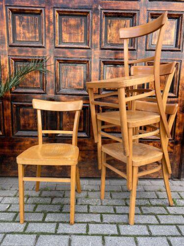 1/54 Stuhl Frankfurter Kaffeehaus Bauhaus Holzstuhl Cafe Kneipe
