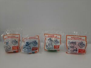1999-McDonald-039-s-Happy-Meal-Toys-Complete-Set-4-Mcdonaldland-Olympic-Games-Parade
