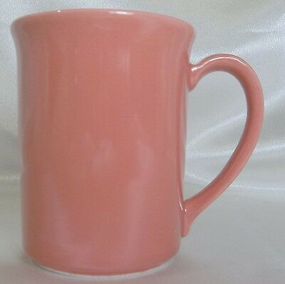 Corning ware. - Coffee  Cup  Mug   Rose   Coral #47 K7 Retired 1987-1988