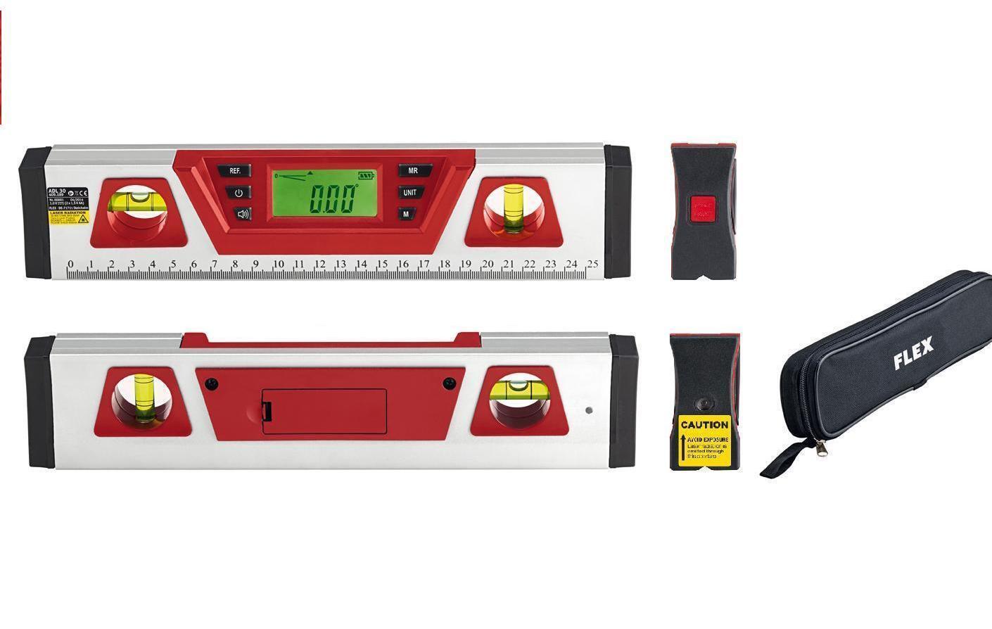 Flex  Digitale Wasserwaage ADL 300 mit Tasche              409 189