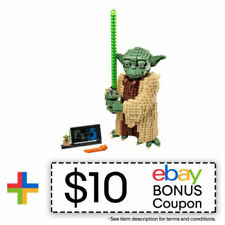 LEGO Star Wars 75255 Yoda Model 1771 Piece Block Building Kit w/ 1 minifigure