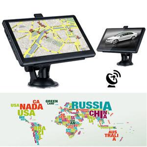 """7"""" Pantalla Táctil 8GB GPS de Coche Navegador Navegación MP3 Gratis Mapas Europa"""