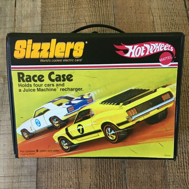 2006 Hotwheels Sizzlers Race Case - Vinyl - Mattel Toys - Case only