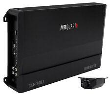 MB Quart DA1-1800.1 1800 watt RMS Mono Class D Car Audio Amplifier Discus Amp