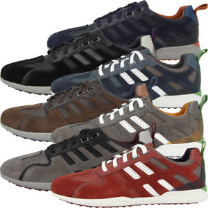 Details zu GEOX U Snake.2 A Schuhe Herren Freizeit Sneaker Turnschuhe Schnürer U948DA022FUC