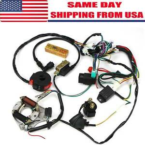 Details about Complete Wiring Harness CDI STATOR Ignition Electric on