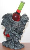 Wine Bottle Holder- Stone Gargoyle Guardian Statue Wine/tequila Holder