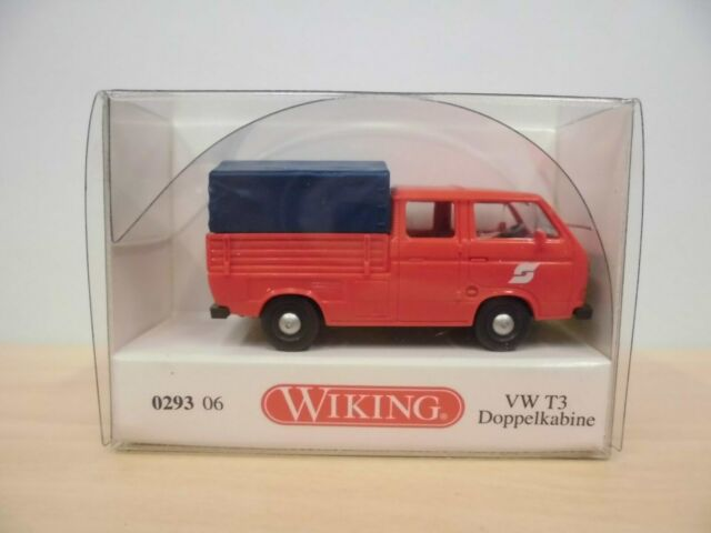 "Wiking 1:87 - VW T3 DoKa mit Plane ""ÖBB"" - Nr. 0293 06"