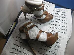 f8154fbbf96 Image is loading nib-NEW-Guess-ORMANDI-LEATHER-Premium-Designer-Sandals-