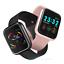 2-5d-IPs-Bluetooth-dorado-i5-frecuencia-cardiaca-pulsuhr-fitness-pulsera-Android-iOS miniatura 12
