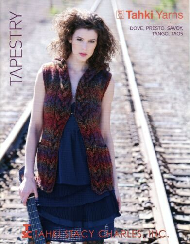 Tahki Yarns Tapestry Knitting Pattern Book 14 Designs for Women Fall Winter