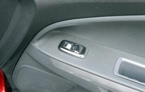 Interior Door Armrest Window Lifter Cover For Ford Fiesta 3 EcoSport 2013-2015