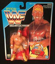 "HULK HOGAN Hulkster Slam SHARP! 1992 Hasbro Classic WWE 4"" Legend action figure"