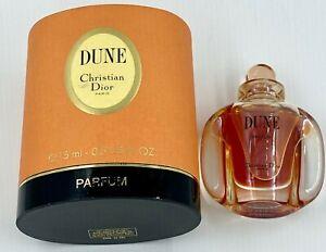 Dior-DUNE-PARFUM-15-ml-0-5-FL-OZ-RARE-VINTAGE