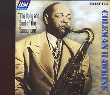 ASV Mono - Coleman Hawkins / The Body And Soul Of The Saxophone - MINT