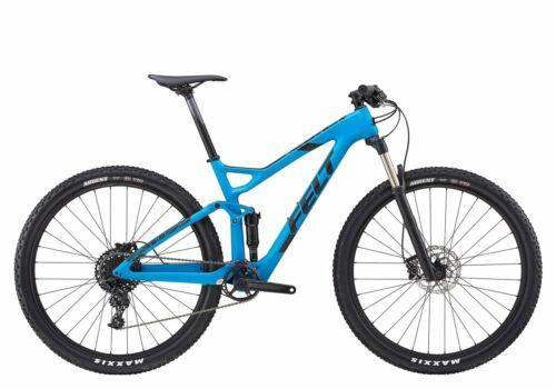 "2018 Felt Edict 5 Carbon Full Suspension MTB Bike Sram NX 11-Speed 18/"""