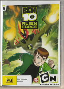 Ben-10-Alien-Force-Volume-5-New-amp-SEALED-Region-4-UPC-9322225072336