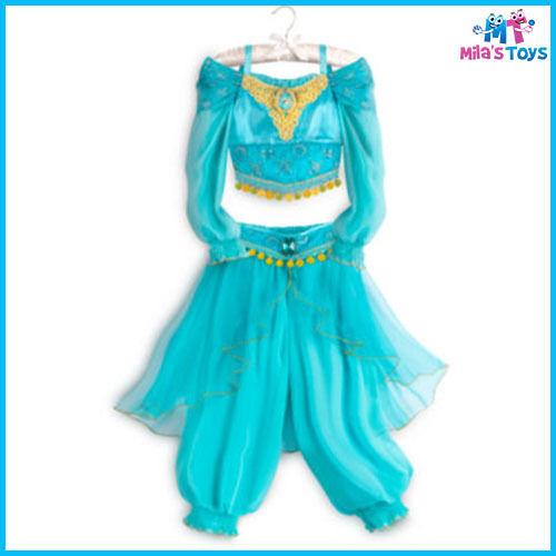 Disney Aladdin/'s Jasmine Costume for Kids sizes 3-10 brand new