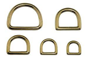 Halbringe-Messing-massiv-gold-D-Ringe-Messingringe-Ringe-13-16-20-25-38-mm