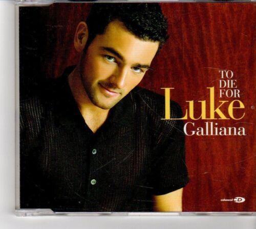 1 of 1 - (FM29) Luke Galliana, To Die For - 2001 CD