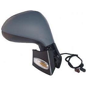 PEUGEOT 207 /& CC 06-15 Right Door Wing Mirror PRIMED ELECTRIC HEATED