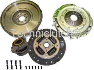 Double-a-masse-unique-volant-et-embrayage-kit-avec-Csc-Pour-Opel-Corsa-1-7-CDTI-1-7